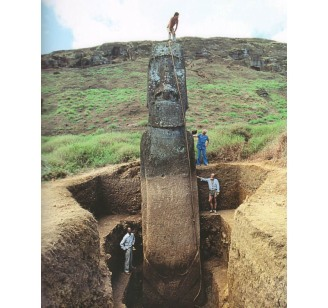 easter-island-statue-moai-unearthed-dug-out-uncovered-deeply-buried